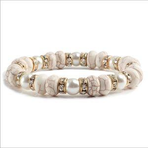 *NEW* Yoga Bracelet with Rhinestone Accents